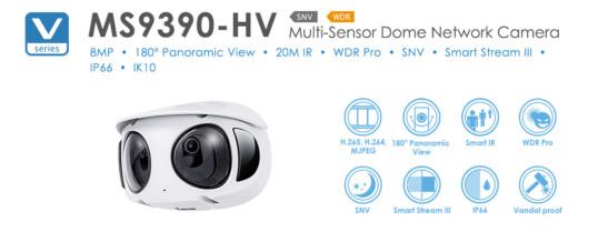 معرفی دوربین پانورامای ویووتک مدل MS9390-HV