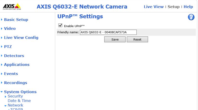 upnp-axis-camera