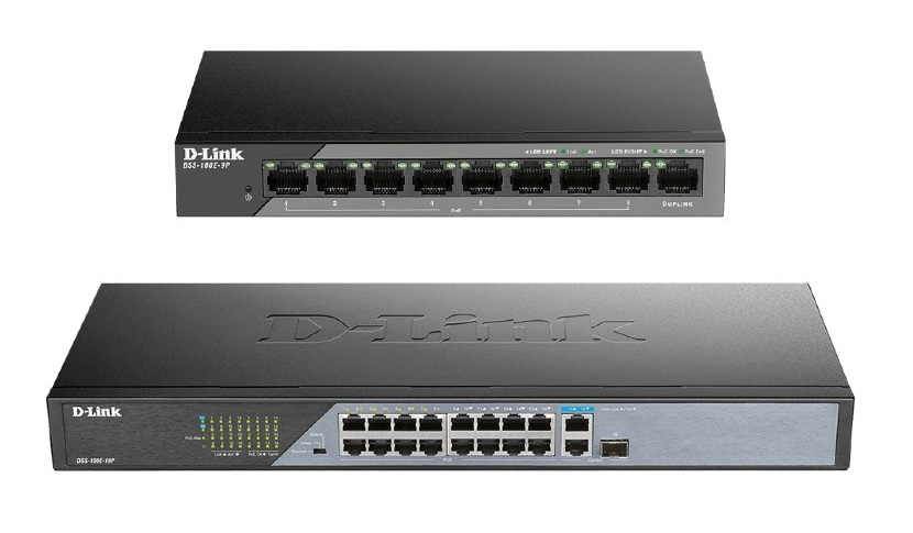 dlink-dss-100e-poe-unmanaged-surveillance-switches