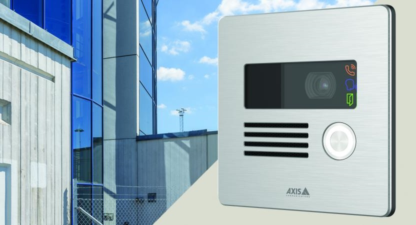 Axis-network-intercom